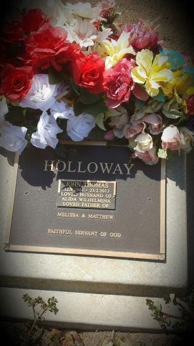 John Thomas Holloway gravesite