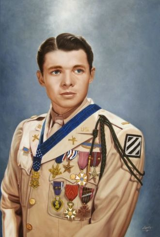 A photo of Audie L. Murphy