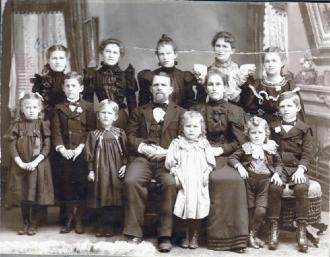 Gertrude Elizabeth (Malliat) Family