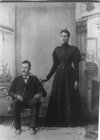 William Beedles and Florence Wiershing