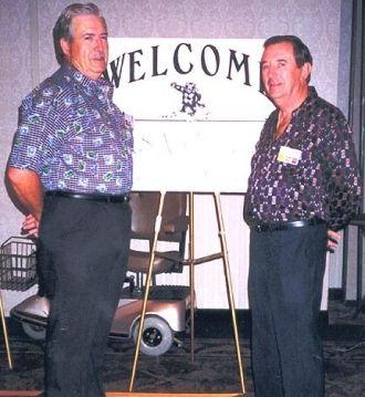 Sgt Ron Dakin & Sgt Jim Brock, 1998