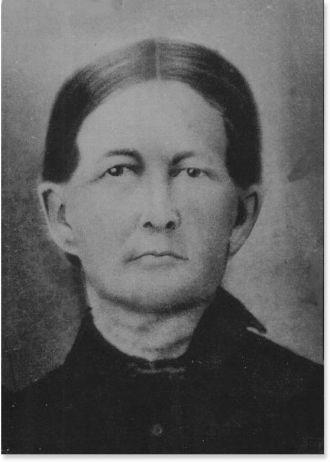 Mary Carolyn Virginia Cannon Roberts 1826-1895-Terrell Co Ga