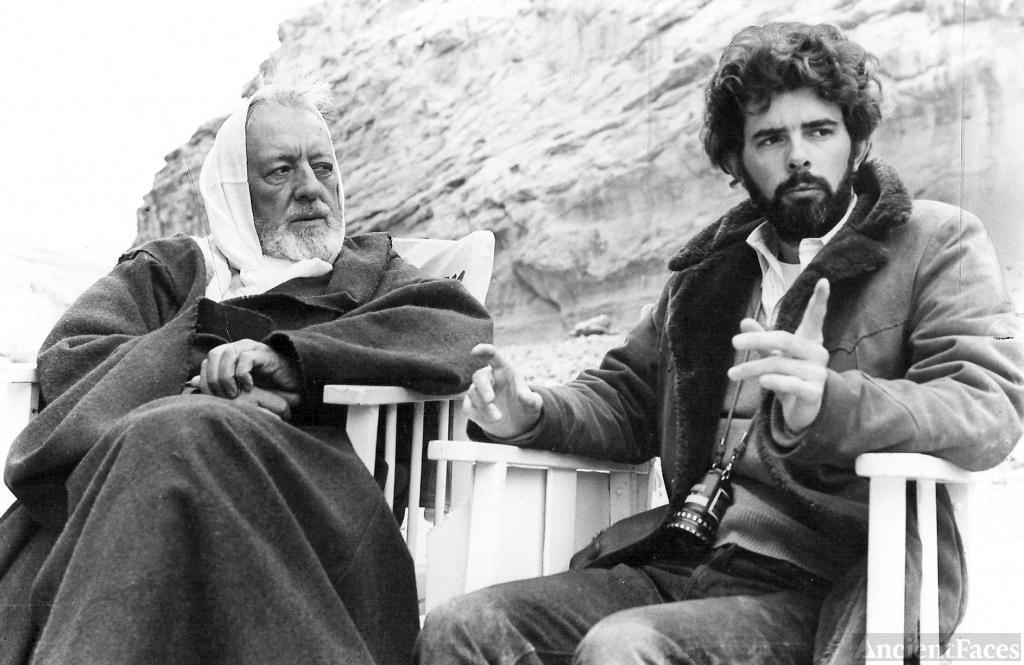 Ben Obi-Wan Kenobi & George Lucas Star Wars set