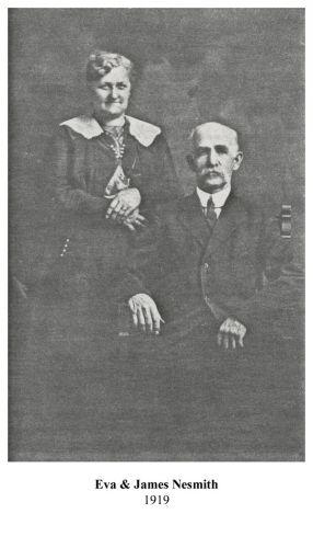 Eva & James Nesmith 1919