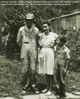 "Beulah, Cub, and Charles ""Charlie"" Parsley"