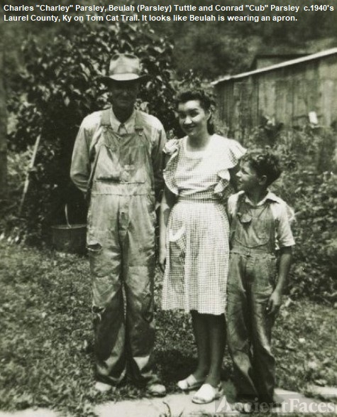 "Beulah, Cub, and Charles ""Charlie"" Parsley"