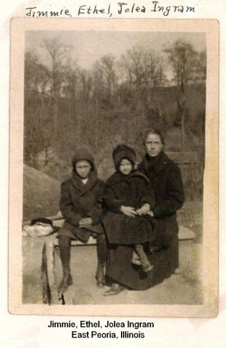 Jimmie, Ethel, & Jolea Ingram