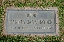 Sandra Hayden Gravesite
