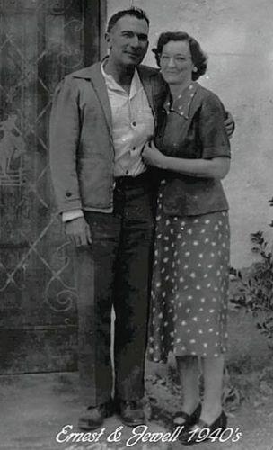 Ernest & Jewel  (Smith) Aguayo, 1940