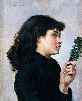 Victorine Meurent painting