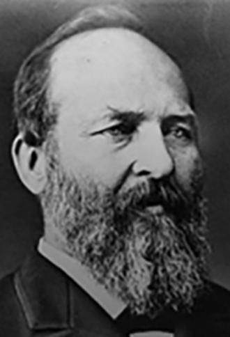 A photo of James Abram Garfield