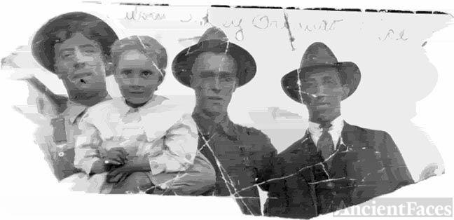 Reuben, Oakey, Olando & Alice