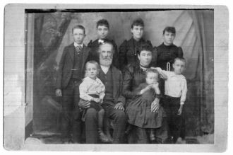 William H. and Catherine Mercer Family