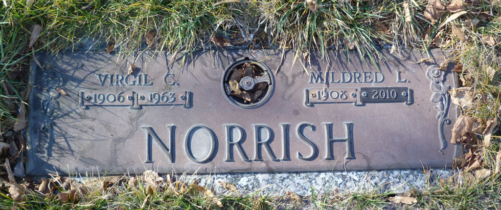 Mildred and Virgil Norrish Gravesite
