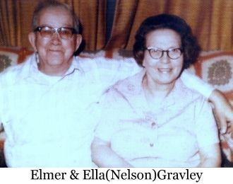 A photo of Ella (Nelson) Gravley