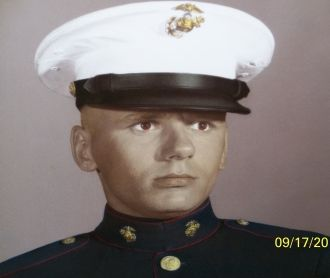 Pvt G. D. Yaros, USMC