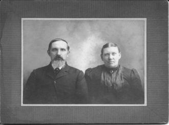 George Fischer & Regina Bodenmiller circa 1859