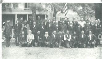 DALLAS CO., MO.  CIVIL WAR REUNION