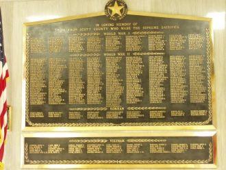 John Leroy Traeger, War Memorial