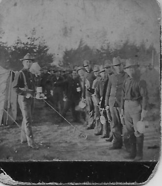 Unknown Great War Soldiers