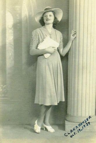 Clara M Houser