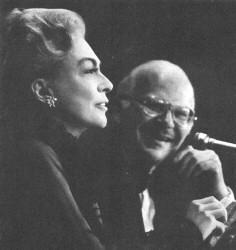 Joan Crawford with John Springer.