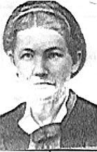 Mary Elvina (Tyler) Warner, Utah