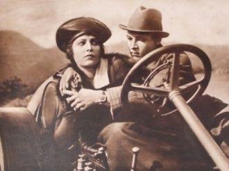 Vera Sisson and Rudy Valentino