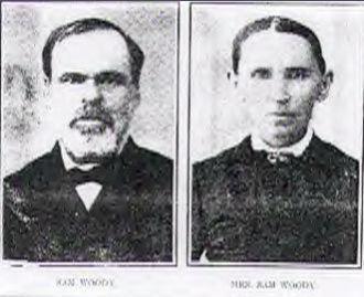 Sam & Hanna Woody, 1870