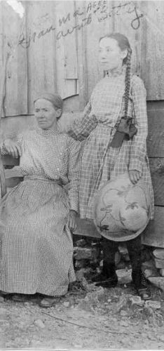 Virginia Anderson Agee & daughter Betty