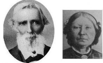 Elam Cheney and Hannah Compton