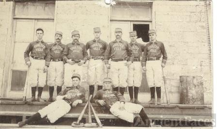 Coulterville baseball team