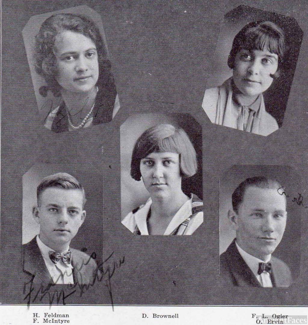 Dorothy Brownell San Jose CA 1926