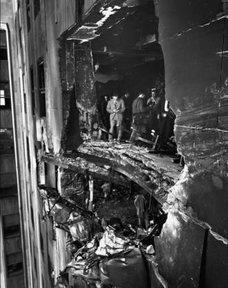 1945 Empire State Building B-25 crash