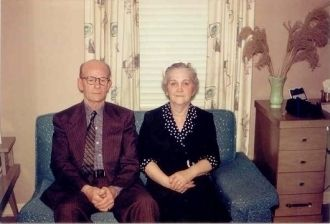 Mr and Mrs Clifton Maywood Hammett 1959