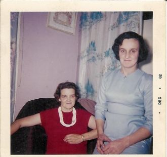 Bina Messer and Emma Jean Walton