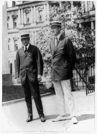 [Governor James M. Cox of Ohio and Franklin D. Roosevelt...