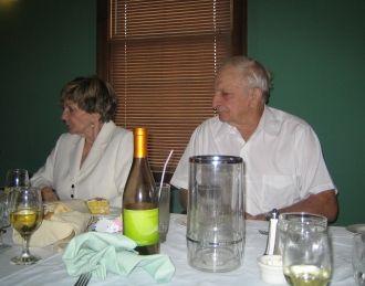 Arlene Gallagher Policastro and Joe Policastro