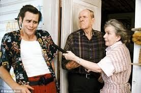 Alice Drummond with Jim Carrey