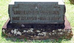 Louisa Lovedy (Treloar) Rickard headstone