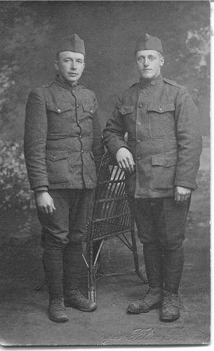 John Boone & (unk) Chambers, VA 1918