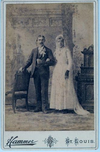 John Koch & Bertha Reinert Wedding