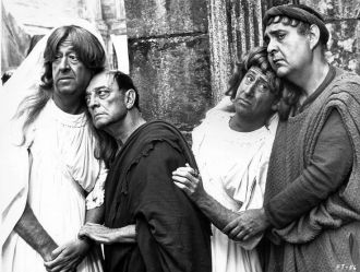 Jack Gilford, Zero Mostel, Buster Keaton, Phil Silvers