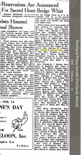 Louise Marie Hagen-Connell--Portland Press Herald (Portland, Maine) (13 feb 1950) a