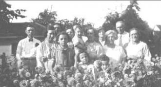 James Newton Shaw Family, Ohio 1934
