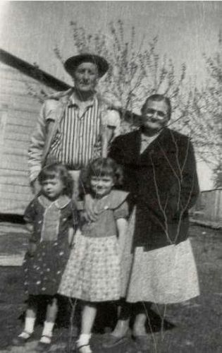 Arthur and Lillie Stroud and family