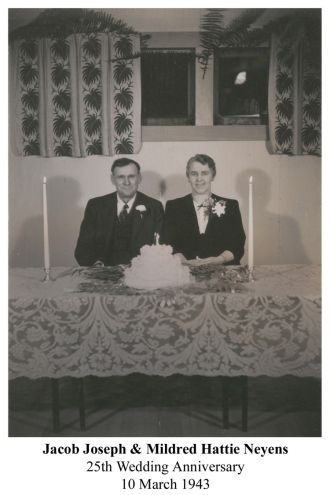 Jacob and Mildred Neyens 1943