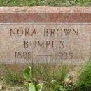 Nora Bernice Brown gravesite