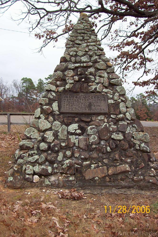 James C Anderson Pyramid Grave