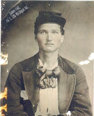 James Colf, Co. C, 17th Michigan Inf.